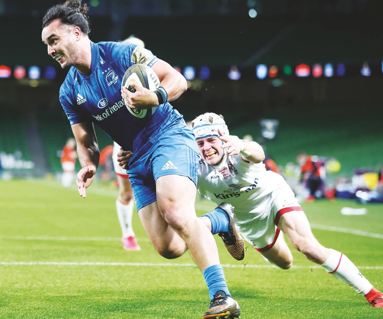 Mighty Leinster land the treble