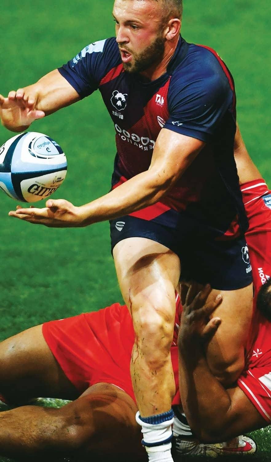 Uren: Toulon will be class but we have Radradra!