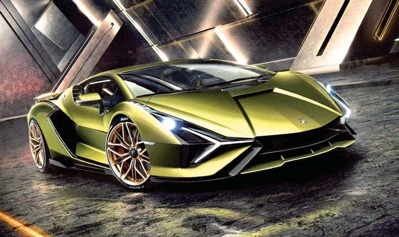 Lambo Pulls The Magical Sián Out Of Its Hat