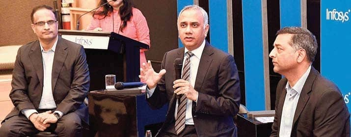 Infosys Q2 Revenue Rises 3.8% To ₹22,629 Crore