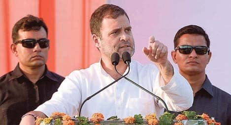 Modi Doesn't Have Any Understanding Of The Economy, Says Rahul In Haryana