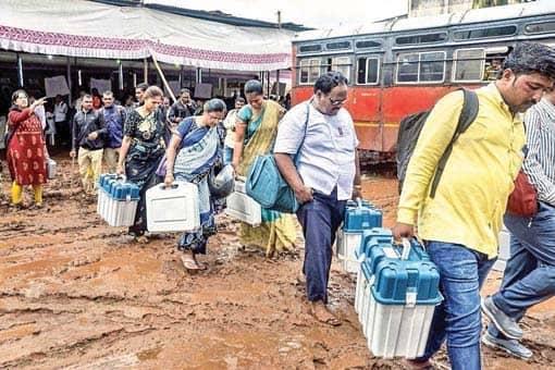 Maharashtra, Haryana Go To Polls Today
