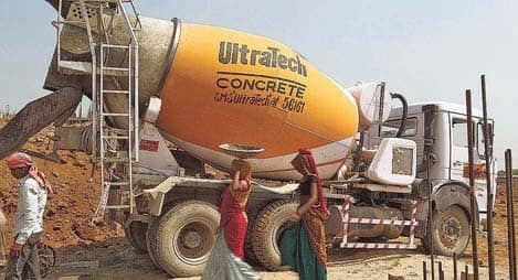 UltraTech Cement Net Up 63 Percent On Lower Cost, Higher Realisation