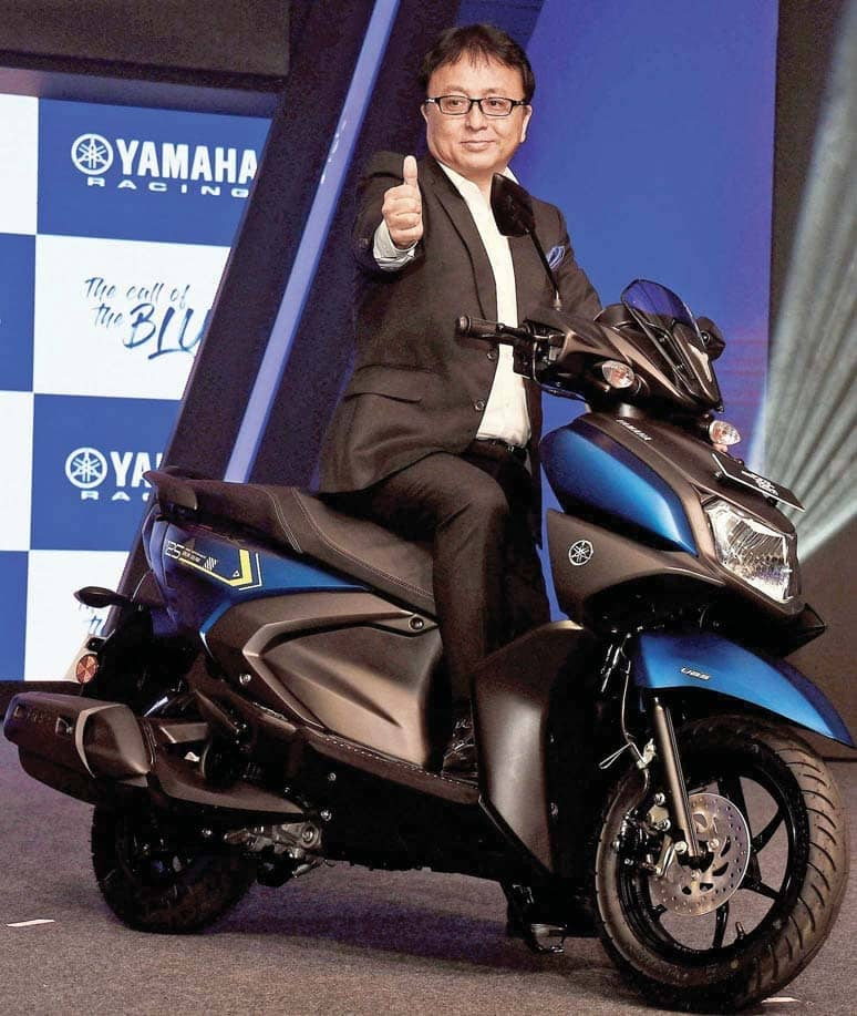 Yamaha Working On New Scooter Project For India