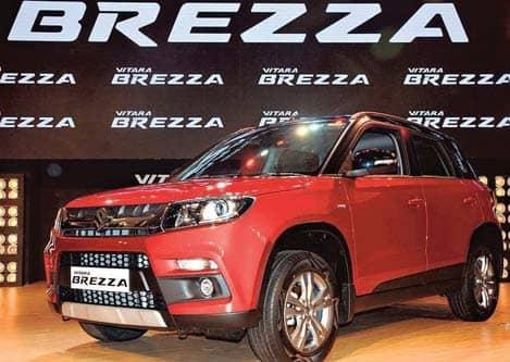 Maruti Launches BS-VI Petrol Vitara Brezza