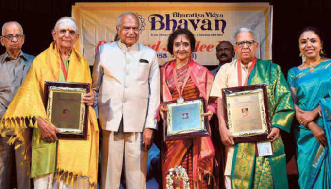 Bharatiya Vidya Bhavan Honours Artists