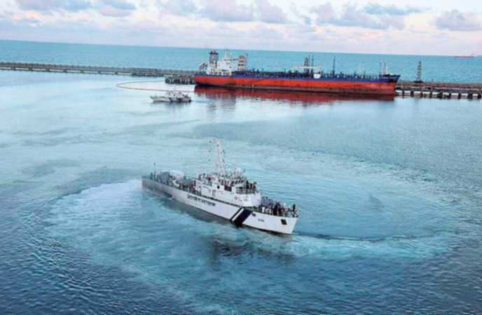 Ennore Port Oil Spill Clean-up Nearly Complete