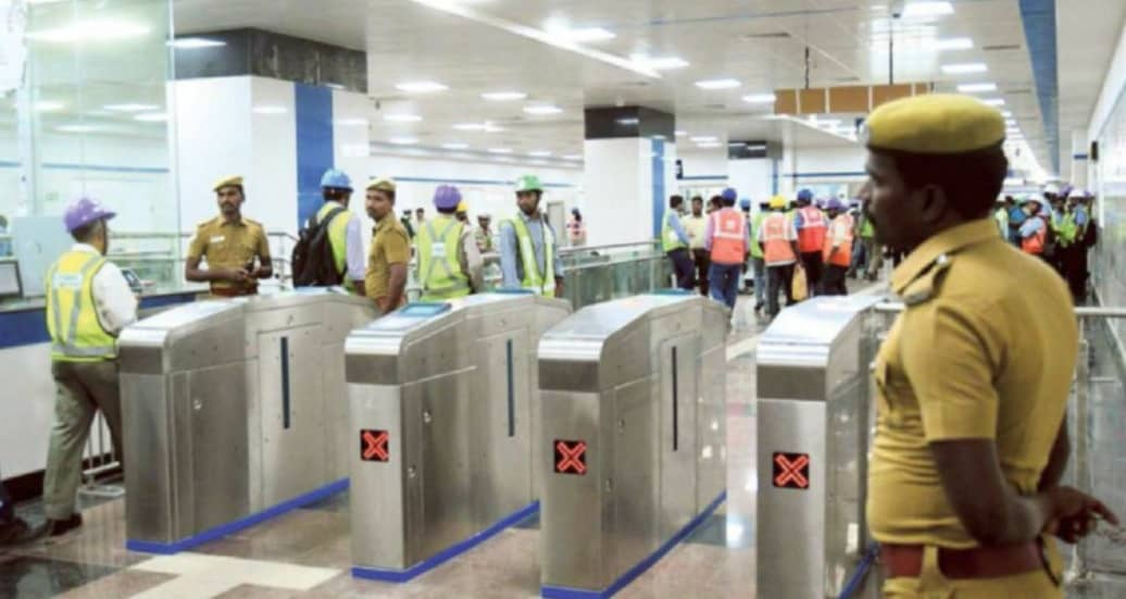 Metro Rail's Last Stretch To Be Opened In February First Week