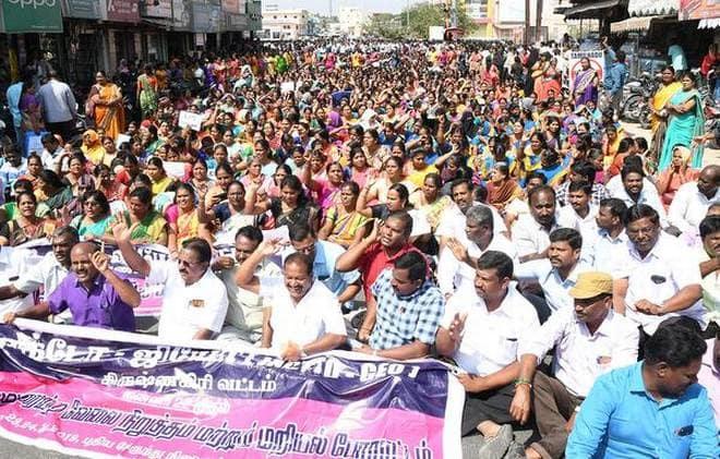 Despite HC Directive, Govt. Workers Stick To Their Guns