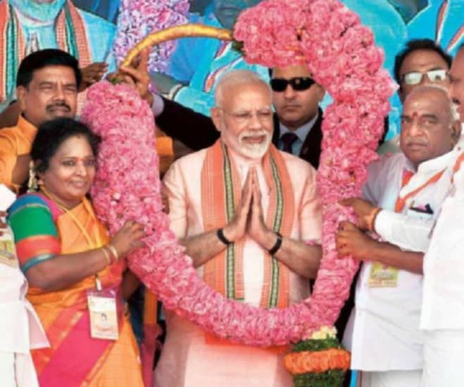 In T.N., Modi Hits Out At Critics Of 10% Quota
