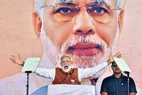 National Security Is Modi's Pitch In U.P.