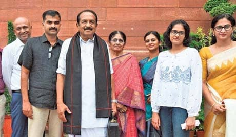 Five Elected To Rajya Sabha From State Take Oath