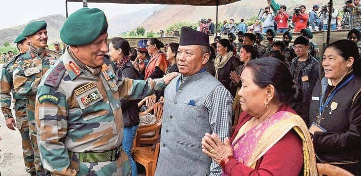 On Kargil Diwas, Army Chief Warns Pak.