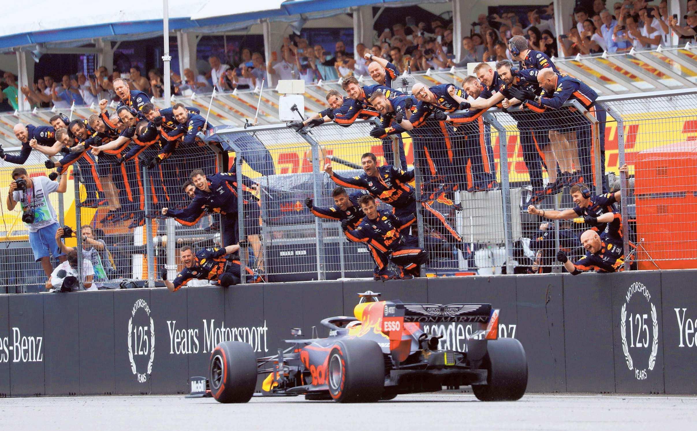 Verstappen Sweeps To Victory In Dramatic German GP