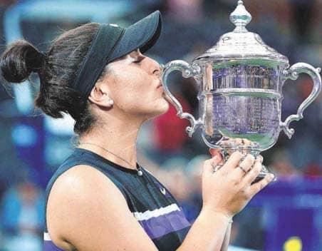 Teen Sensation Andreescu Overpowers Serena