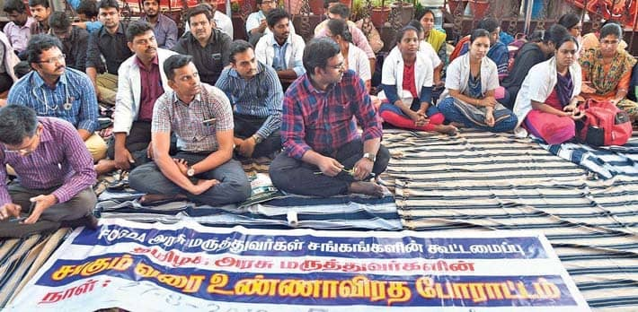 Government Doctors Planning Indefinite Strike From Oct. 25