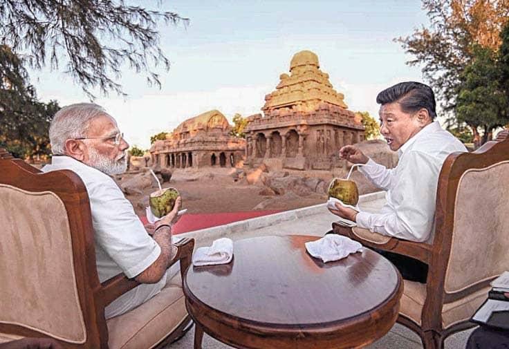 Camaraderie Marks Start Of Modi-Xi Meeting