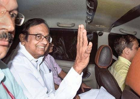 CBI Files Chargesheet Against Chidambaram