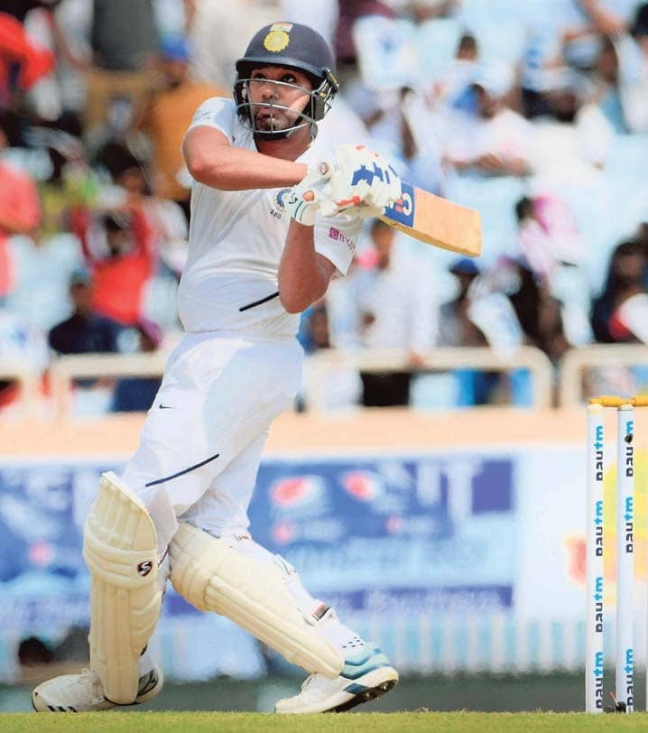 Rohit and Rahane Put India in Familiar Control Zone