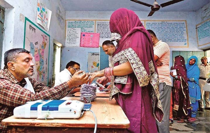 Voter Turnout Dips To 65% In Haryana