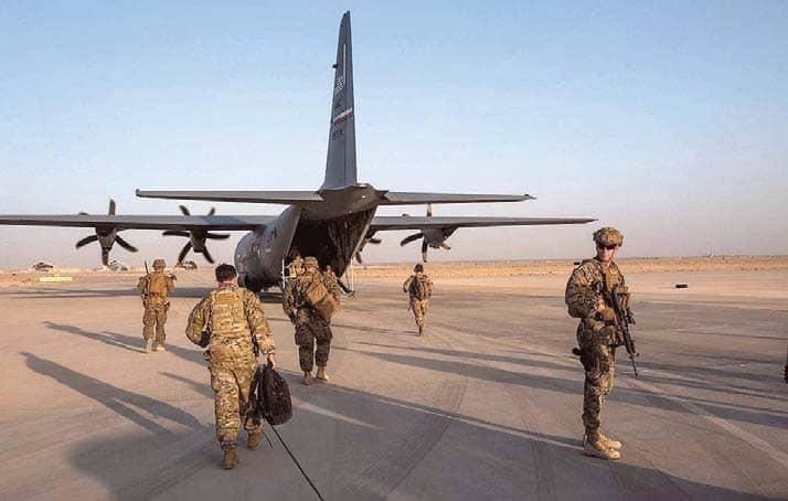 U.S. Is Quietly Reducing Its Troops In Afghanistan