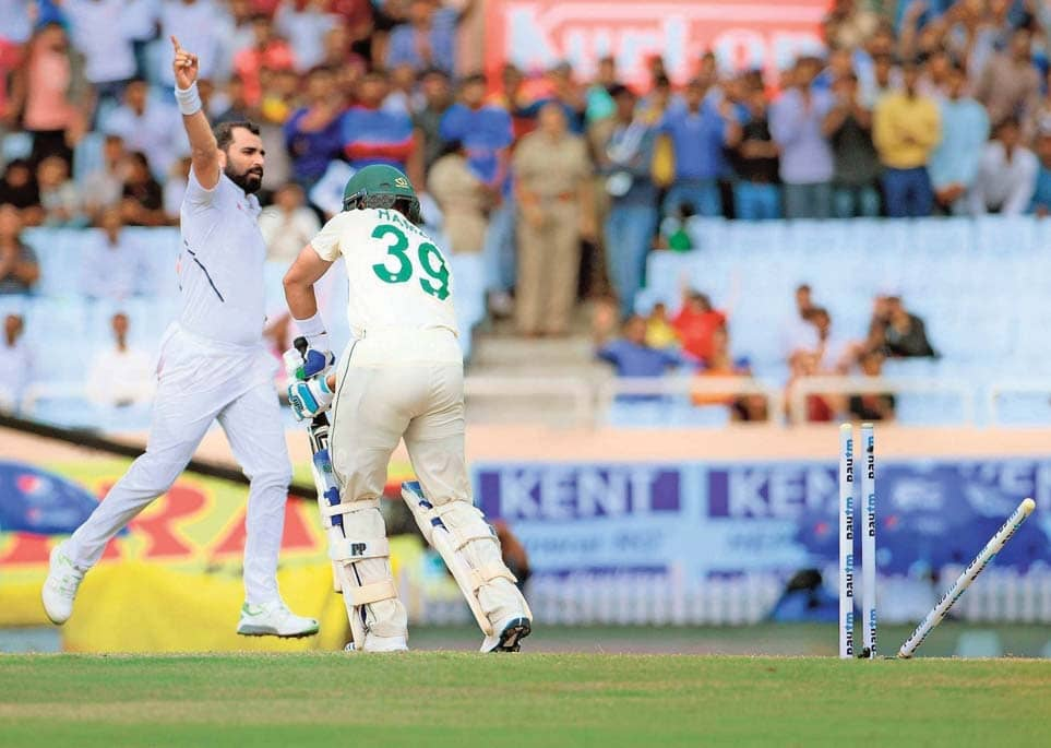 Shami And Umesh Put India On The Brink Of Series Sweep