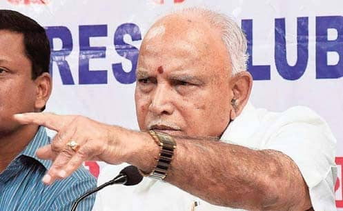 Lessons On Tipu Will Be Reviewed: Yediyurappa