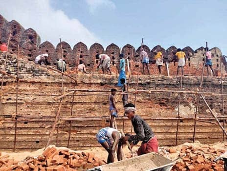 Alamparai Fort set to rise from the ruins after years