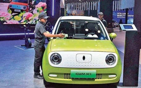 Image result for New Electric vehicles, SUVs energise Auto Show