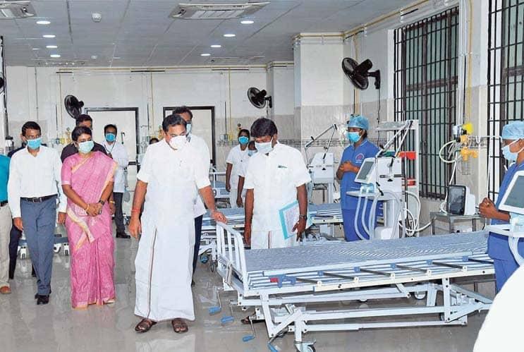 COVID-19 hospital at Omandurar to have 500 beds: CM