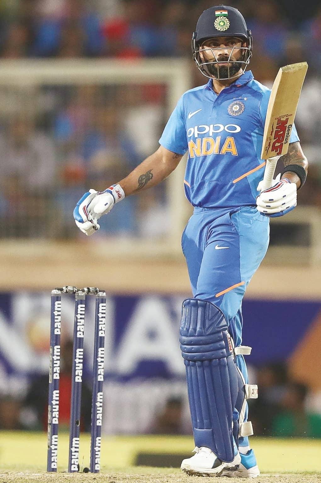 King Kohli's Got The X-Factor To Lead India Home