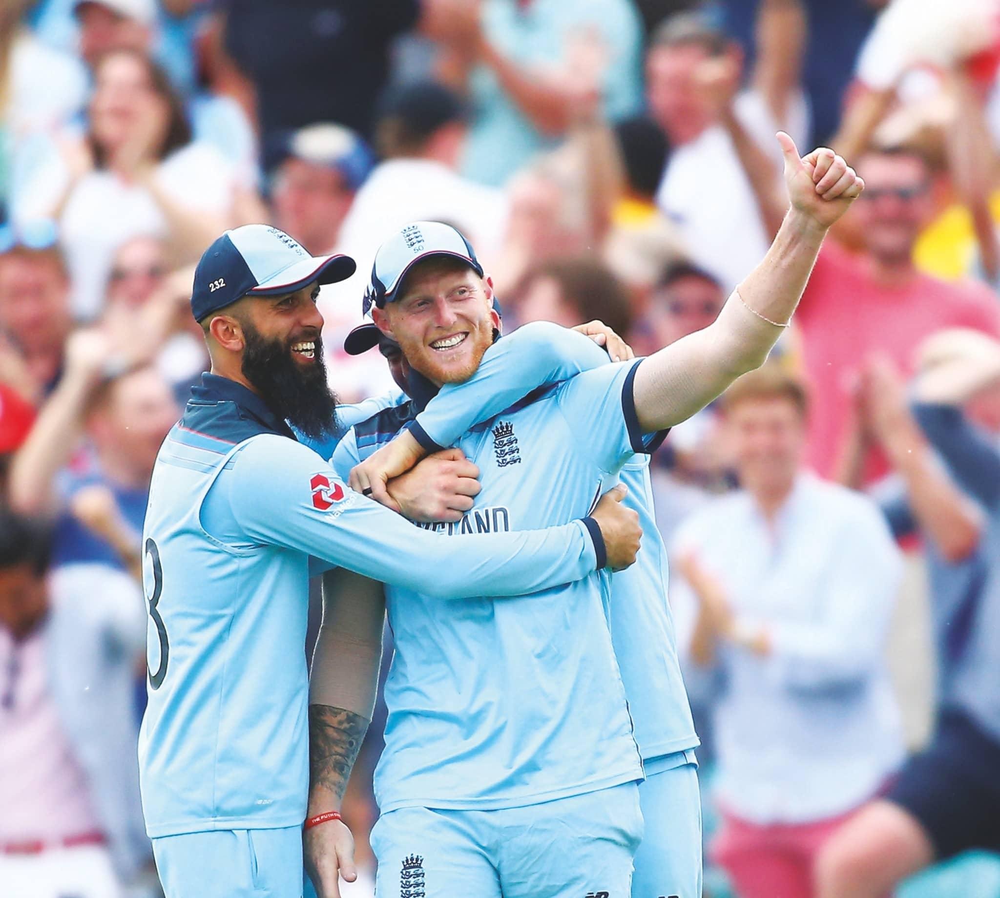 Superhero Stokes Inspires England
