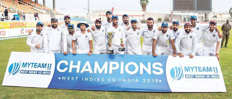 Kohli's Men Stamp Their Authority, Sweep Series