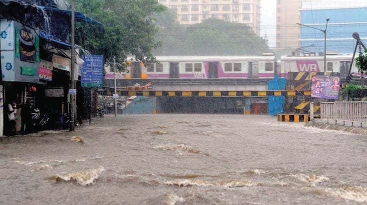Rain Brings Mumbai To A Standstill, Again