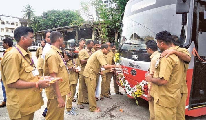 Uddhav Launches New Electric Buses, Best App