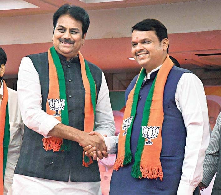 Cong., NCP Suffer Another Jolt As Two Leaders Switch Loyalty To BJP