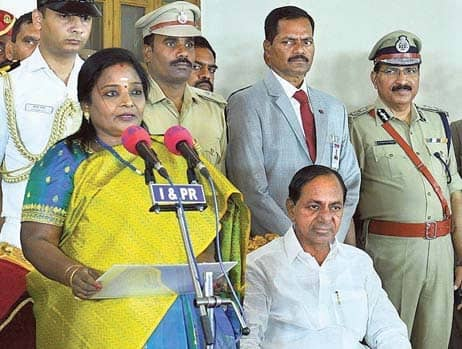 Tamilisai Soundararajan Sworn In TS Governor
