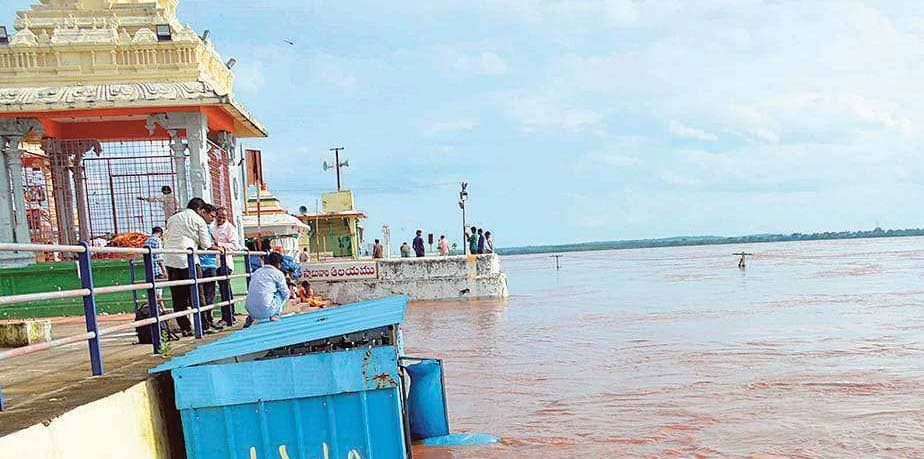 Water Level Up In The Godavari