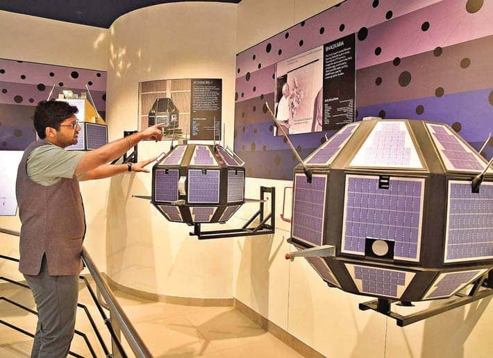 Catch A Glimpse Of Indian Space Journey At Birla Science Centre
