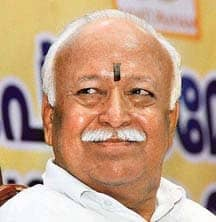 RSS Chief To Take Part In Procession Tomorrow