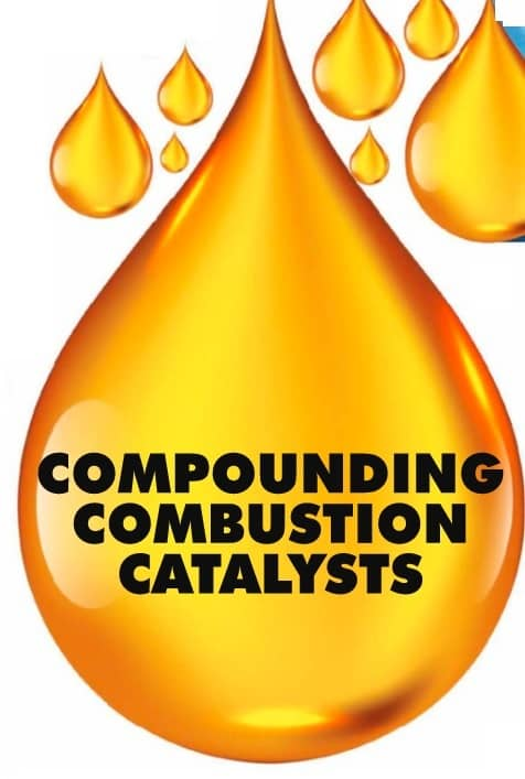 COMPOUNDING COMBUSTION CATALYSTS