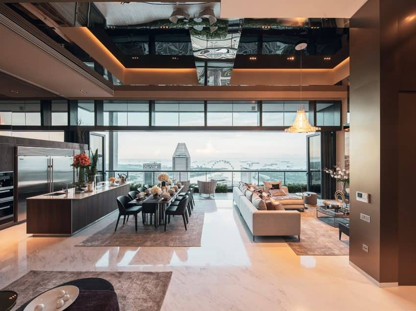 Peter Tay Lends His Touch To A Penthouse Unit