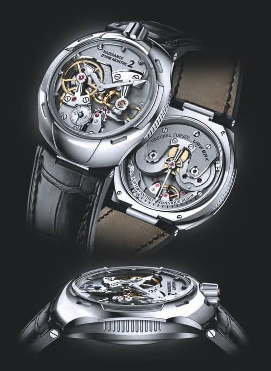 The Sustainability Project in Watchmaking: Naissance D'une Montre 2