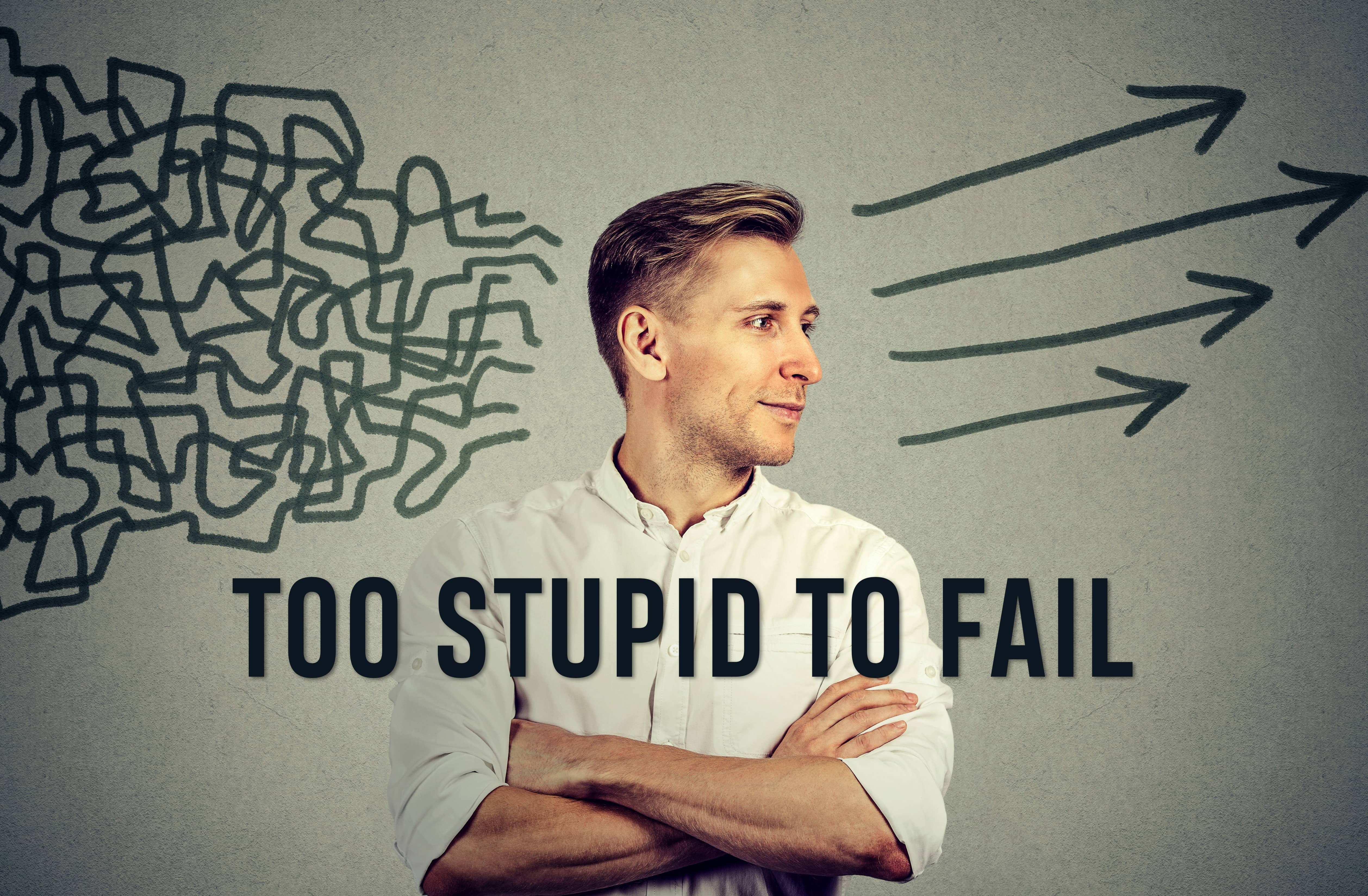 TOO STUPID TO FAIL