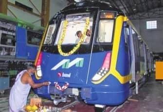 Mock Metro Car To Be On Display At BKC