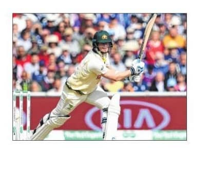 Smith Holds Firm In Ashes Return
