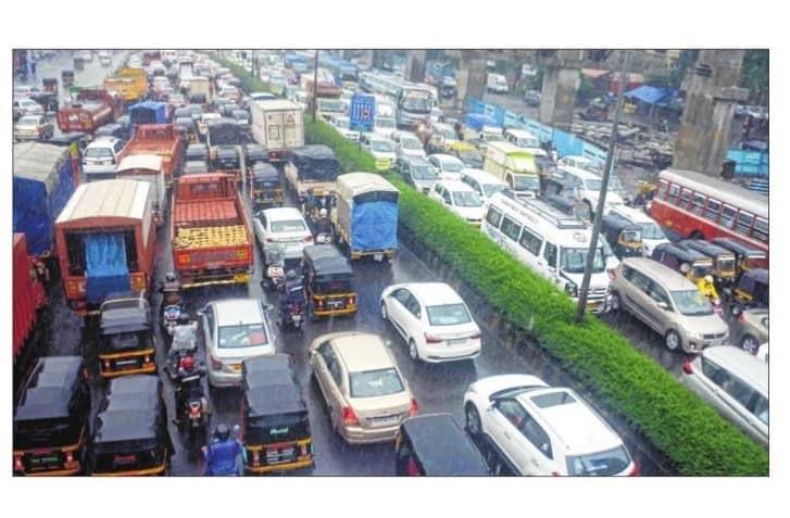 Traffic Snarls, Waterlogging: Order Of The Day