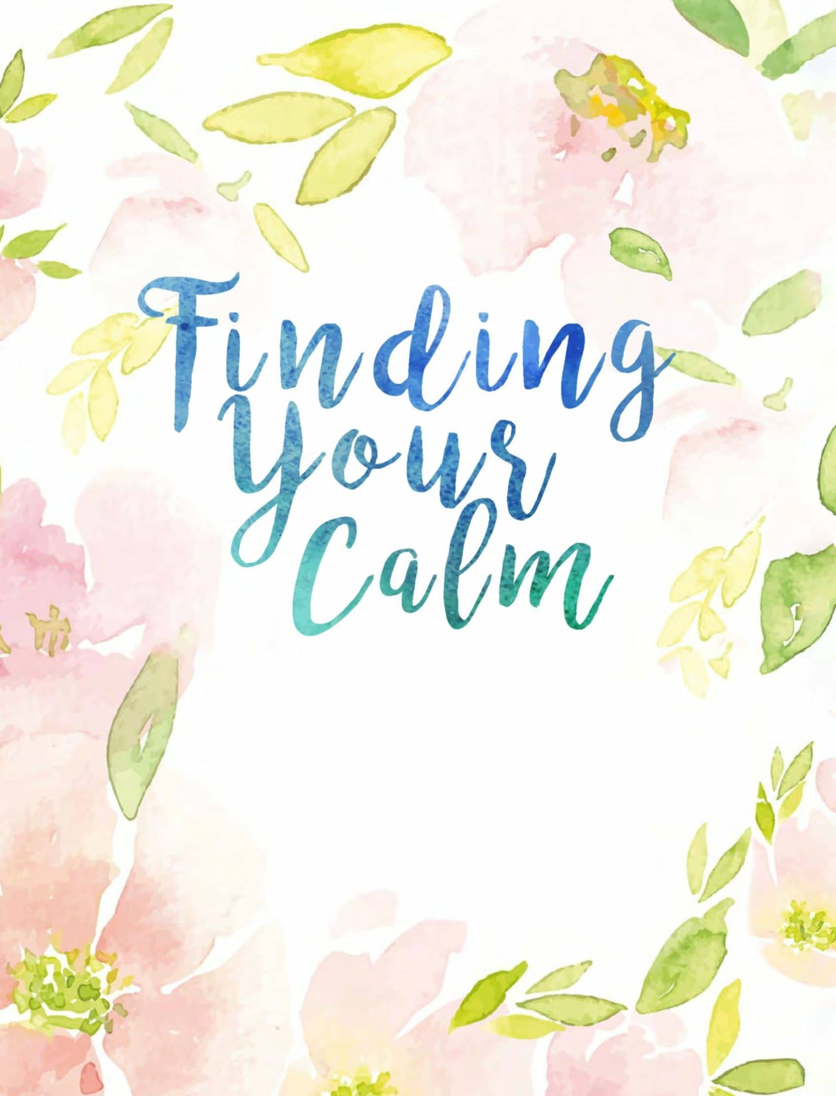 Finding Your Calm - Amidst The Covid-19 Chaos