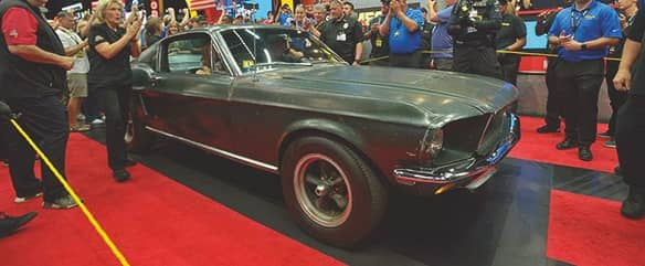 THE BULLITT GOES WITH A BANG