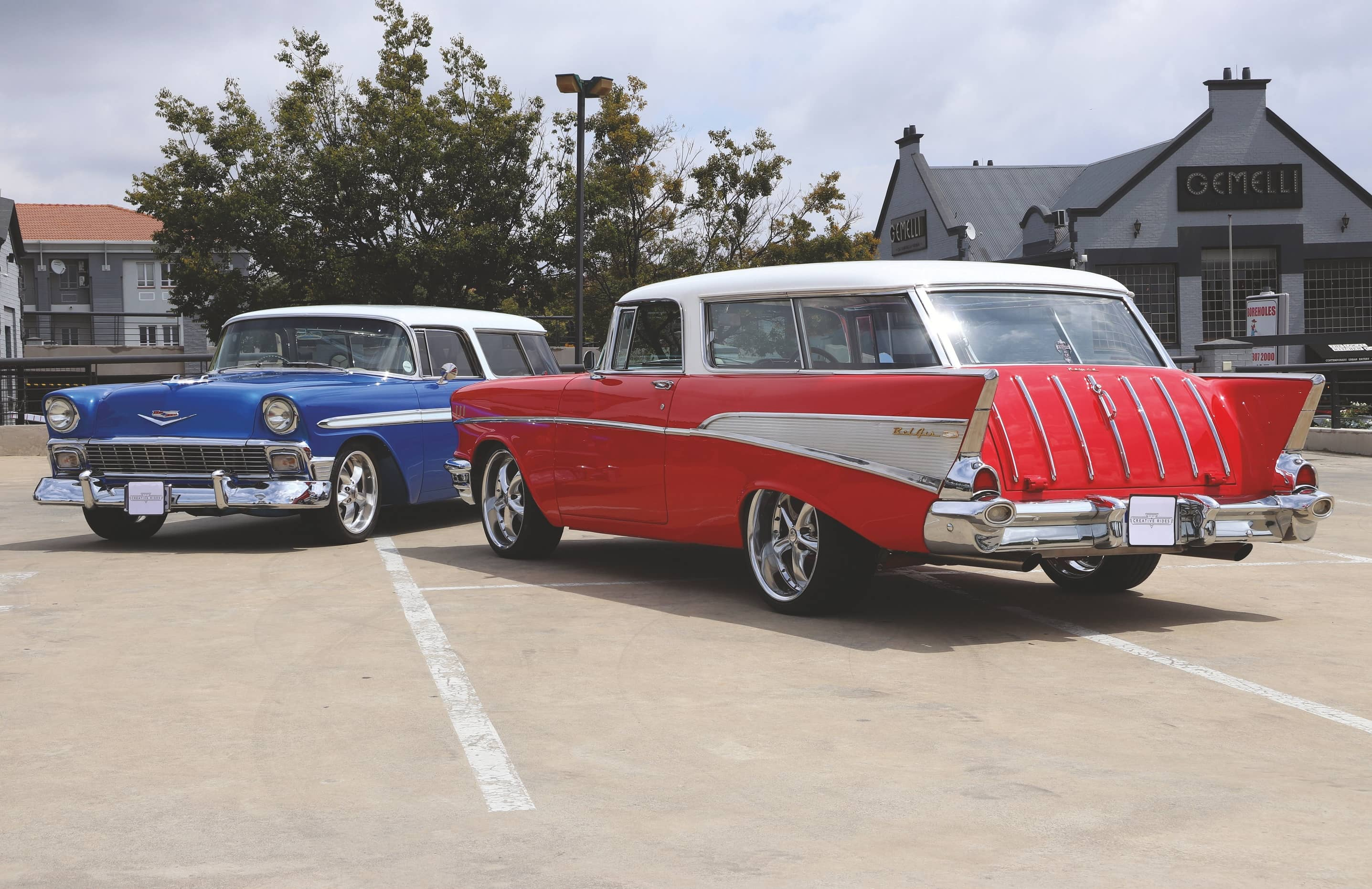 1956 & 1957 Chevy Nomads - It's Not Just A Wagon, It's A Nomad